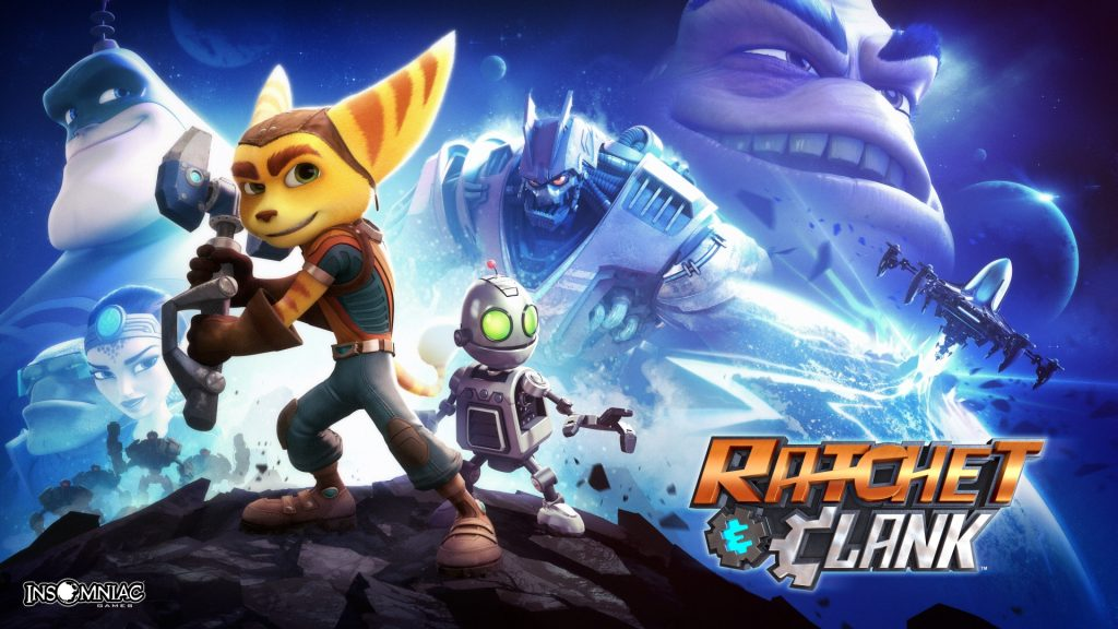 Ratchet & Clank Wallpaper
