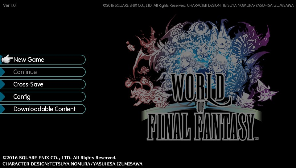 world-of-final-fantasy-main-menu