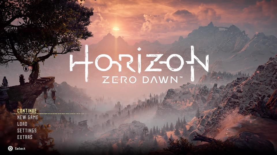 Horizon - Main Menu