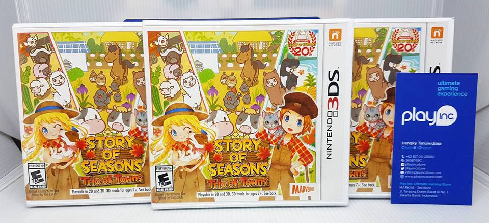 Ready - Story of Seasons - Trio of Towns