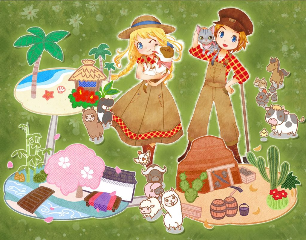 Story of Seasons - Trio of Towns Banner 2