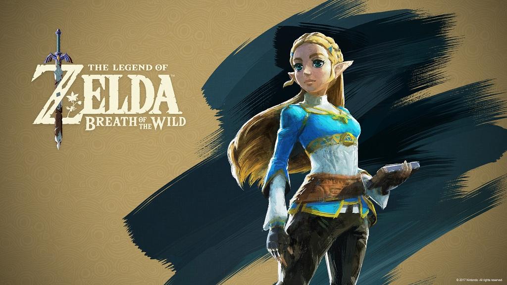 The Legend of Zelda - Breath of the Wild - Zelda