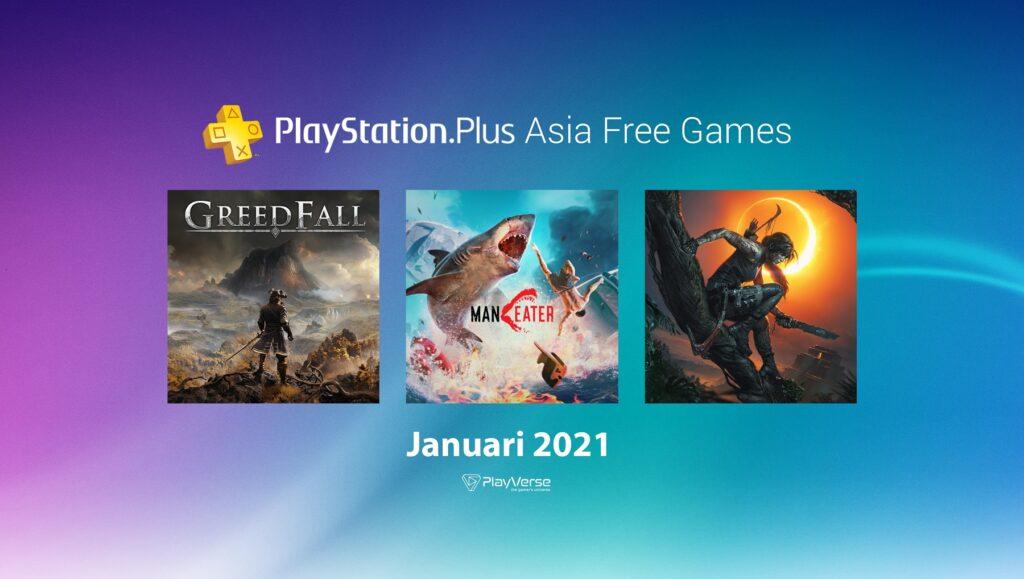 Free PlayStation®Plus Asia - Januari 2021 | Play-Verse
